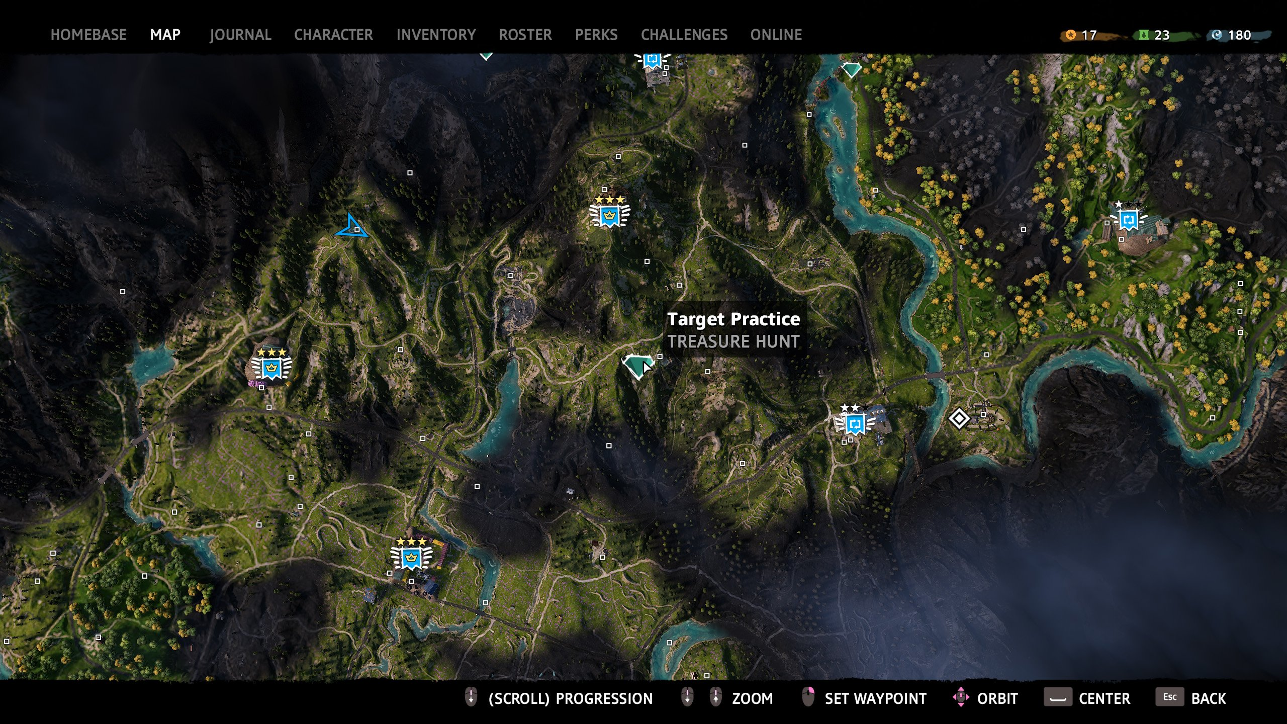 Target Practice Treasure Hunt