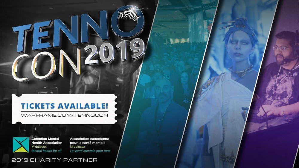 TennoCon 2019 ticket sales date location Warframe Digital Extremes