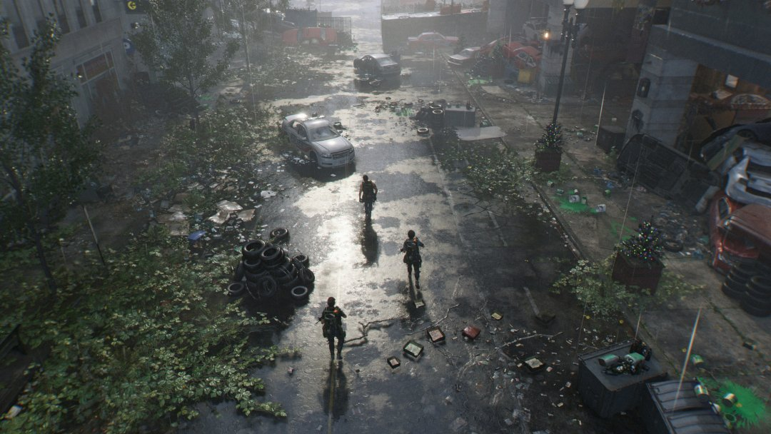 The Division 2 screenshot abandoned streets