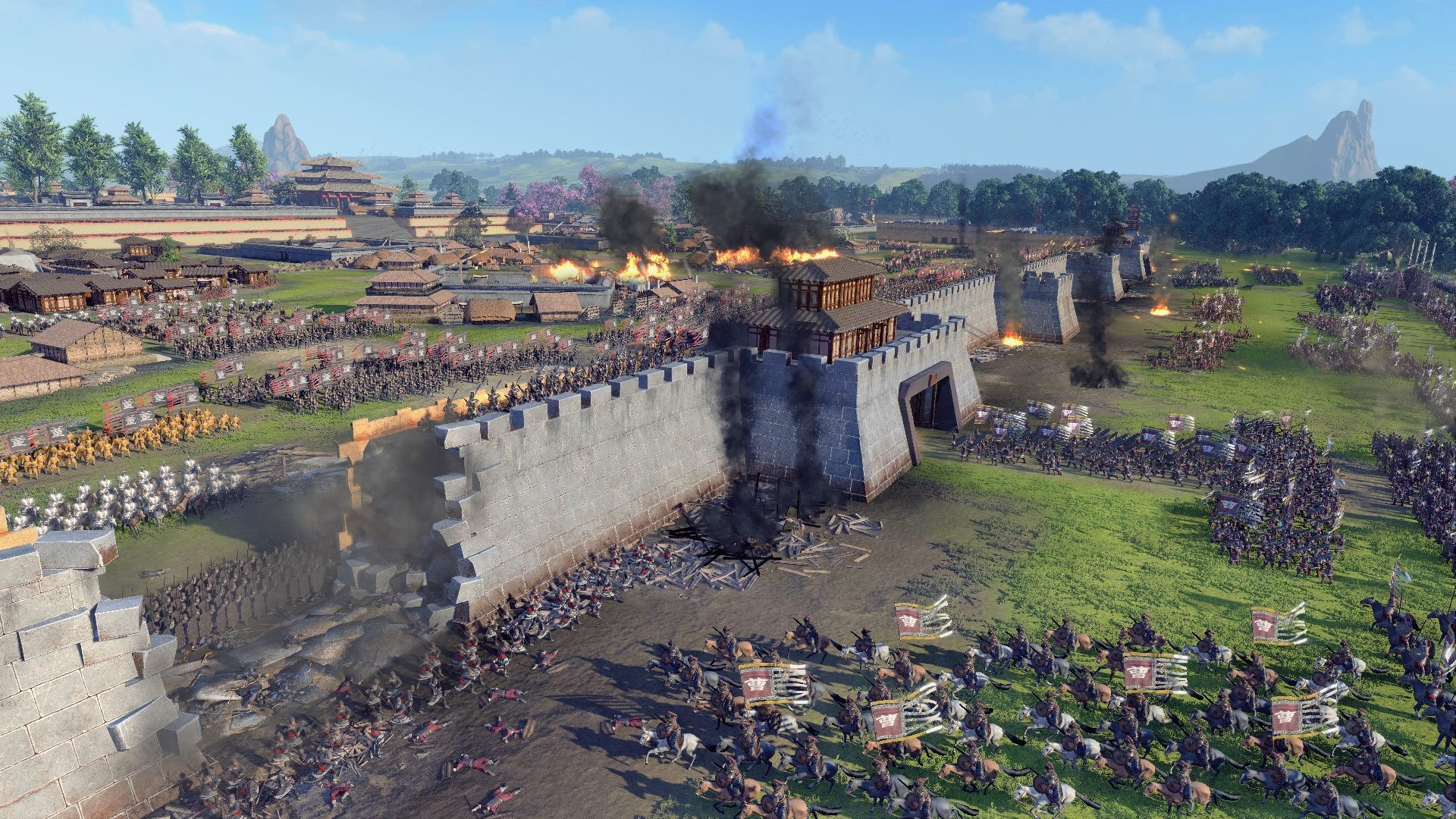 total war three kingdoms launch developer interview