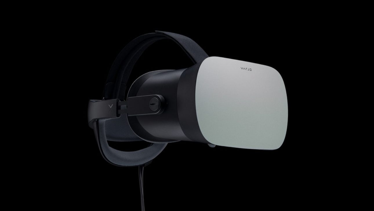 Varjo VR-1 Virtual reality hmd headset commercial 6000
