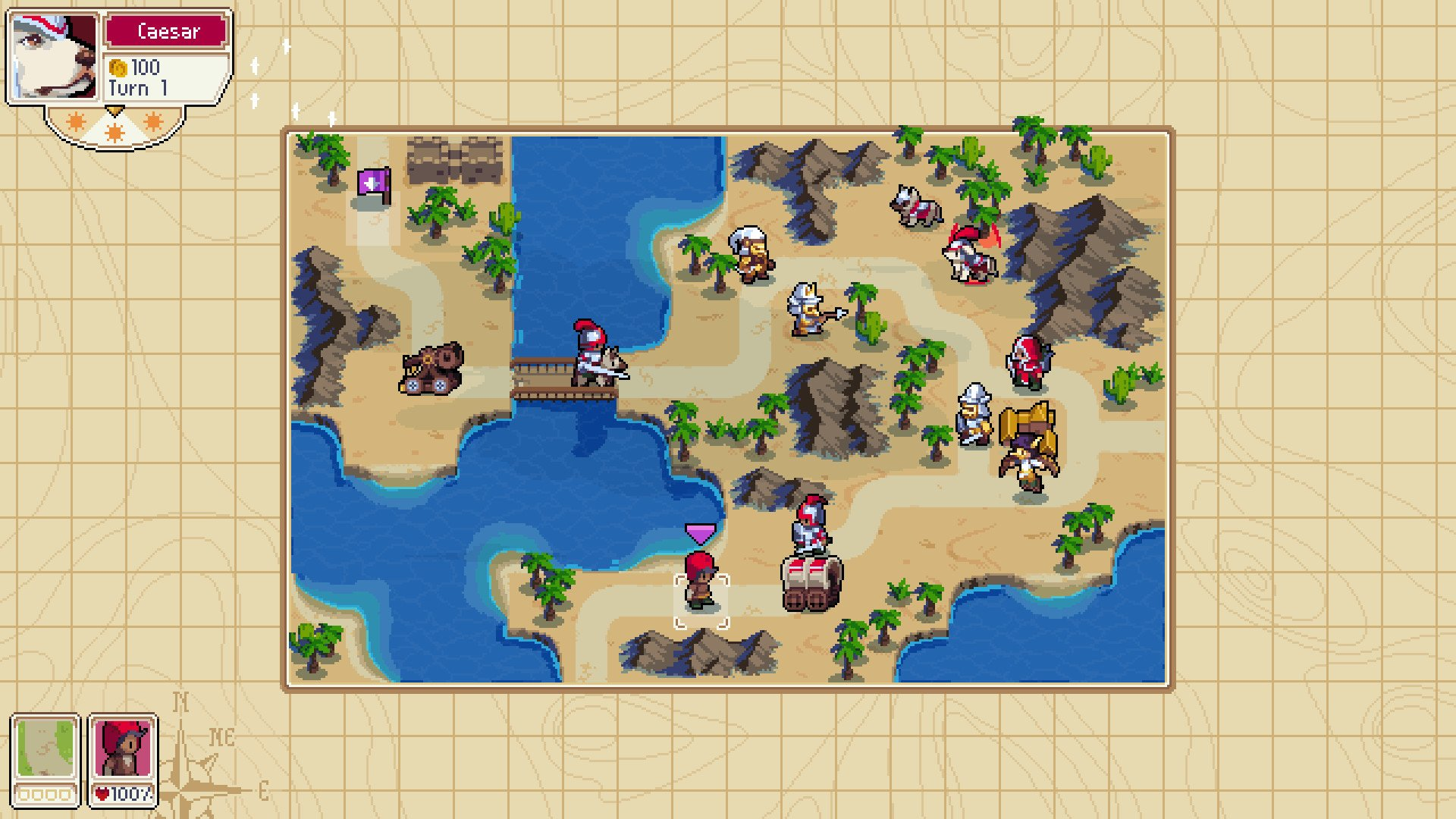 Wargroove villager rescue