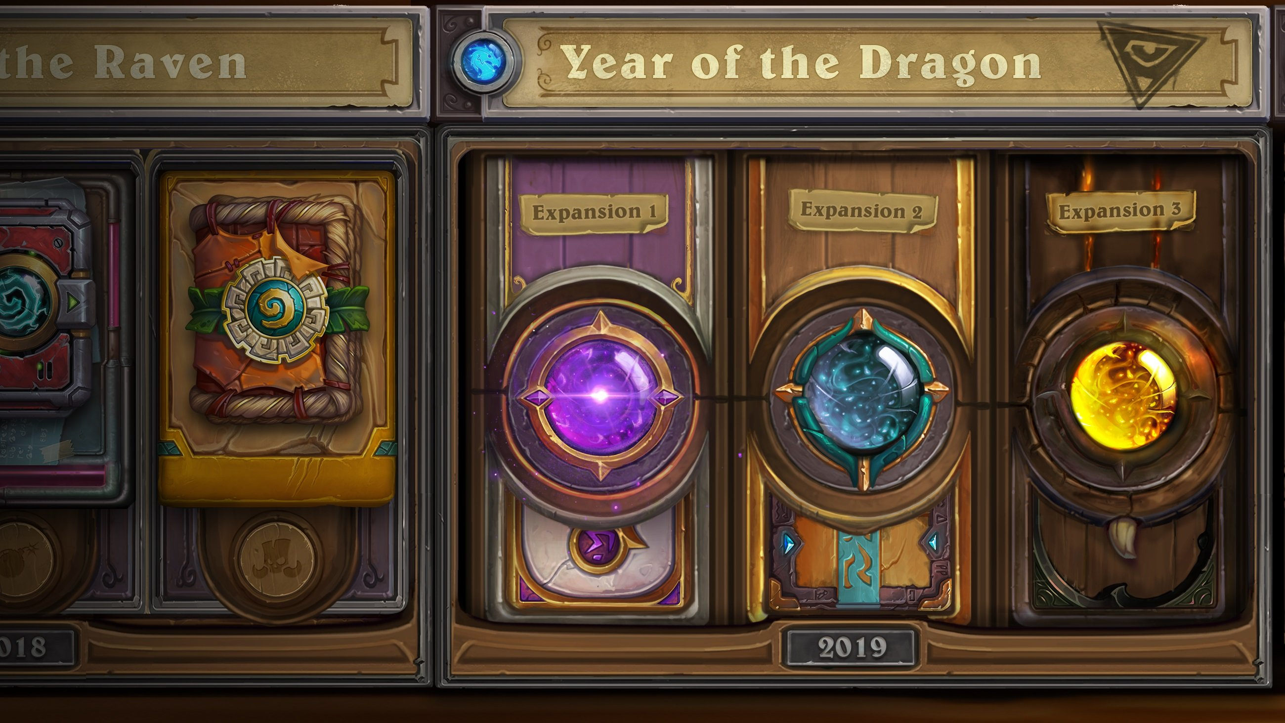 Hearthstone Year of the Dragon set rotation