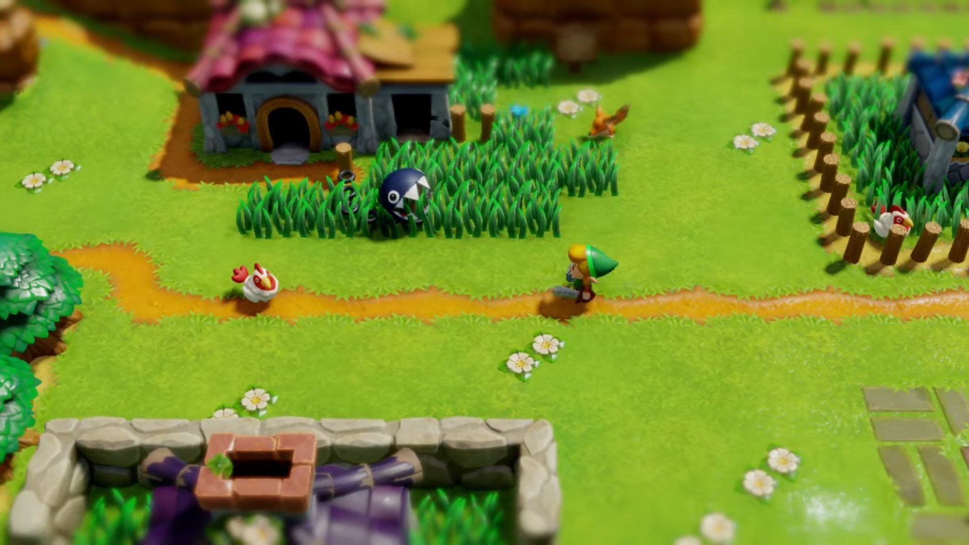 The Legend of Zelda: Link's Awakening on Nintendo Switch screenshot
