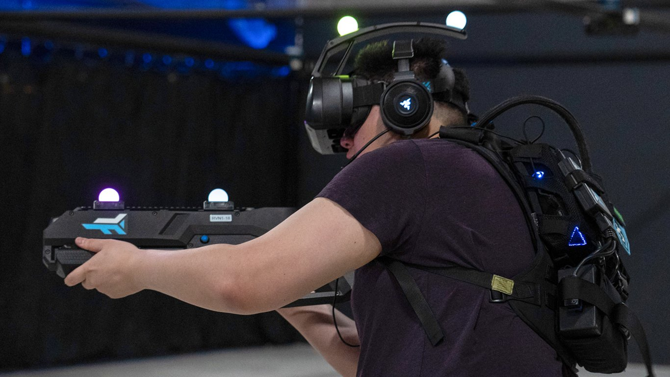 Zero Latency CEO Tim Ruse interview Shacknews gun aim