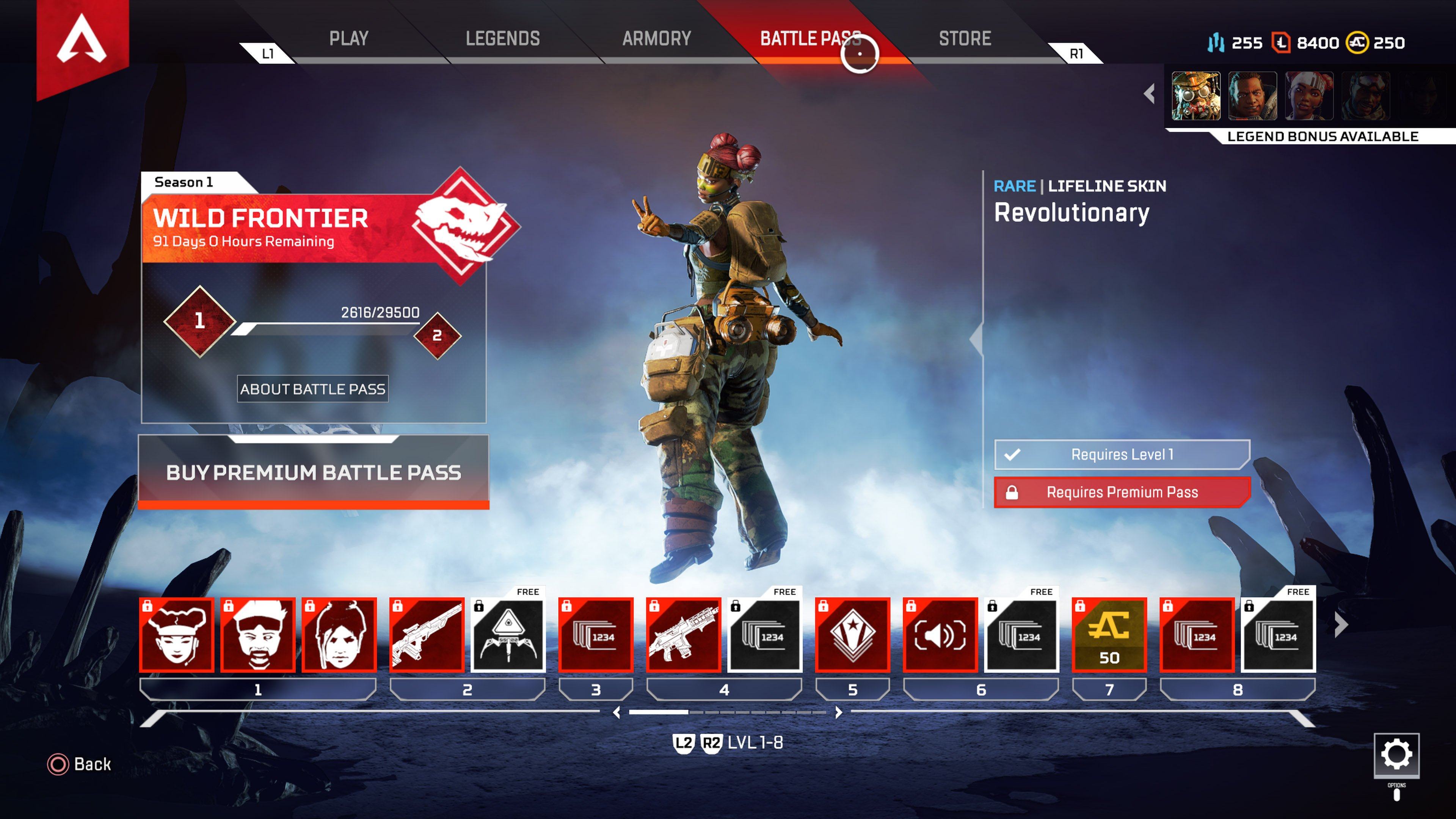 Apex Legends update 1.0 adds battlepass