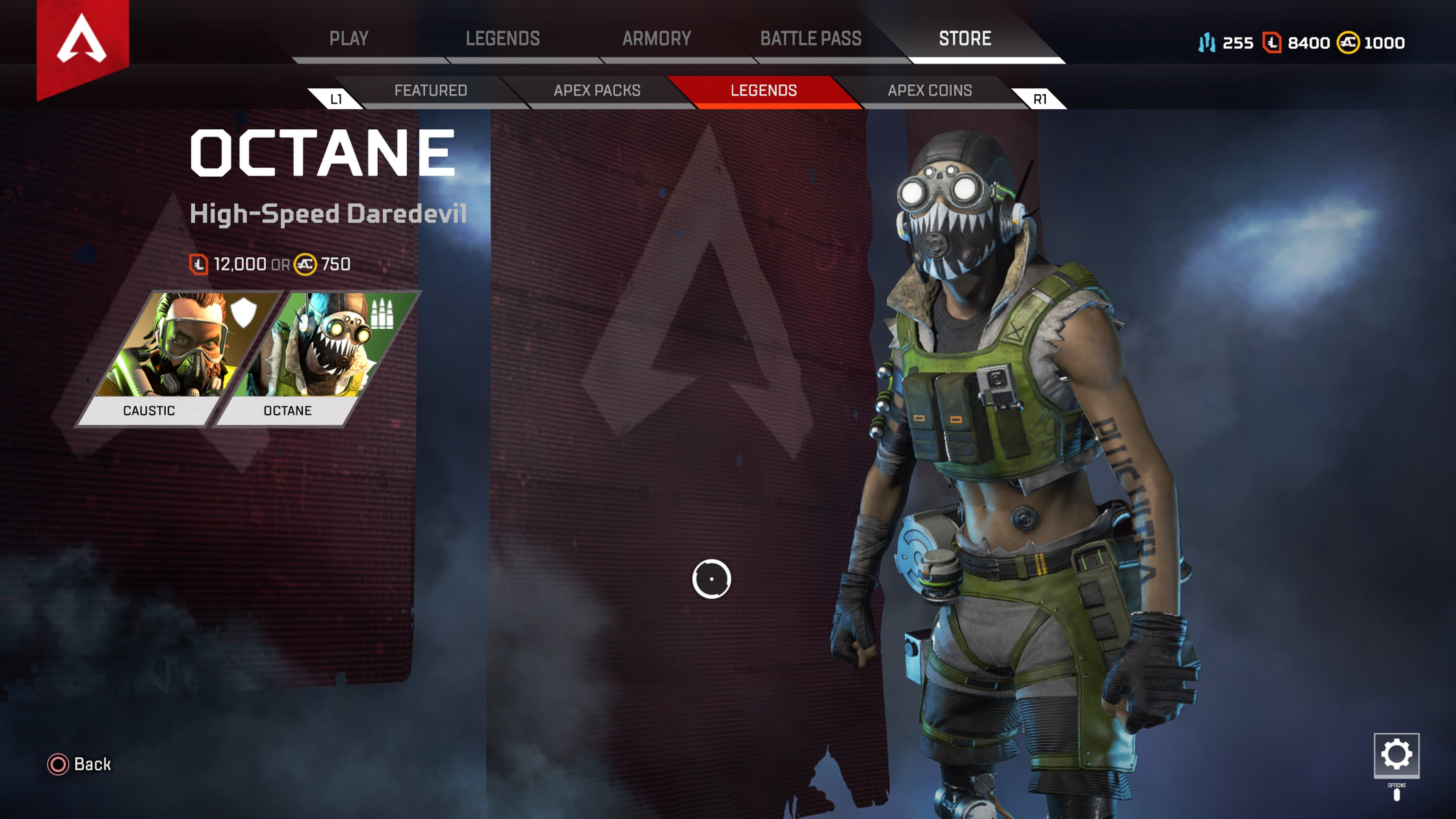 Apex Legends update 1.0 patch notes - octane character