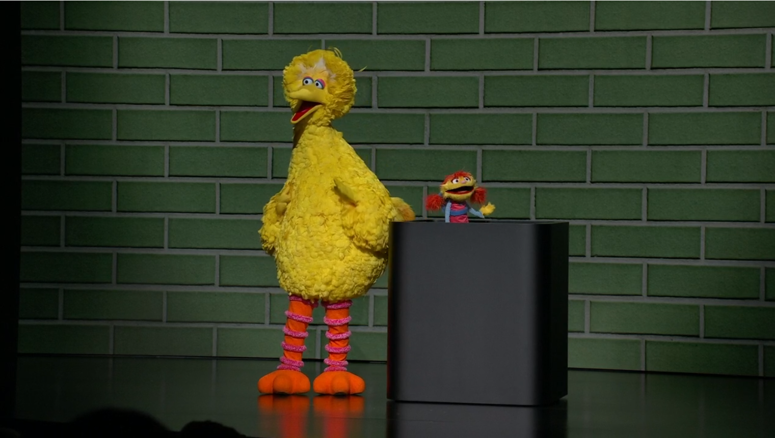 Big Bird and Cody reveal Helpsters TV series for Apple TV Plus