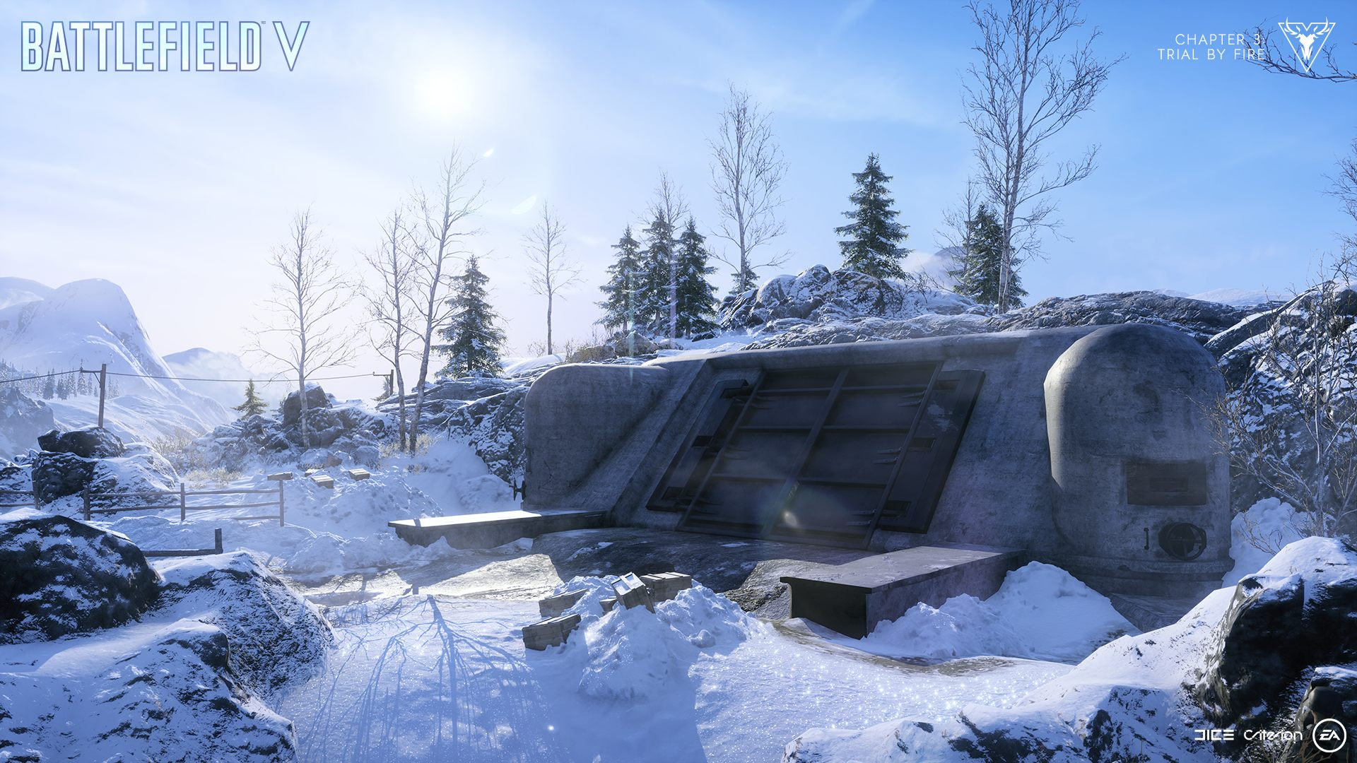 Firestorm Battlefield 5 v battle royale mode bunker screenshot vehicles
