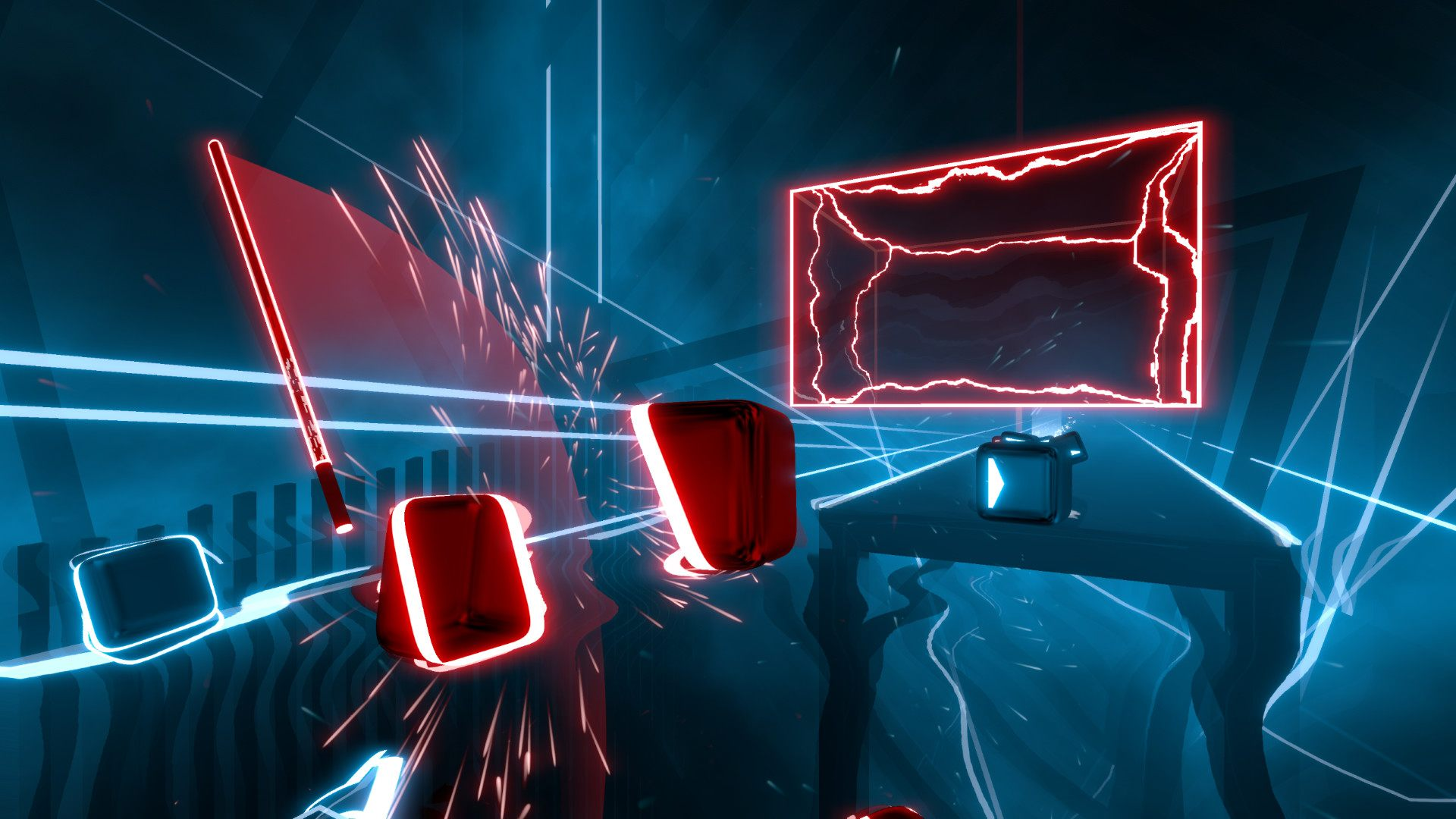 Beat Saber virtual reality VR gameplay sells one million units