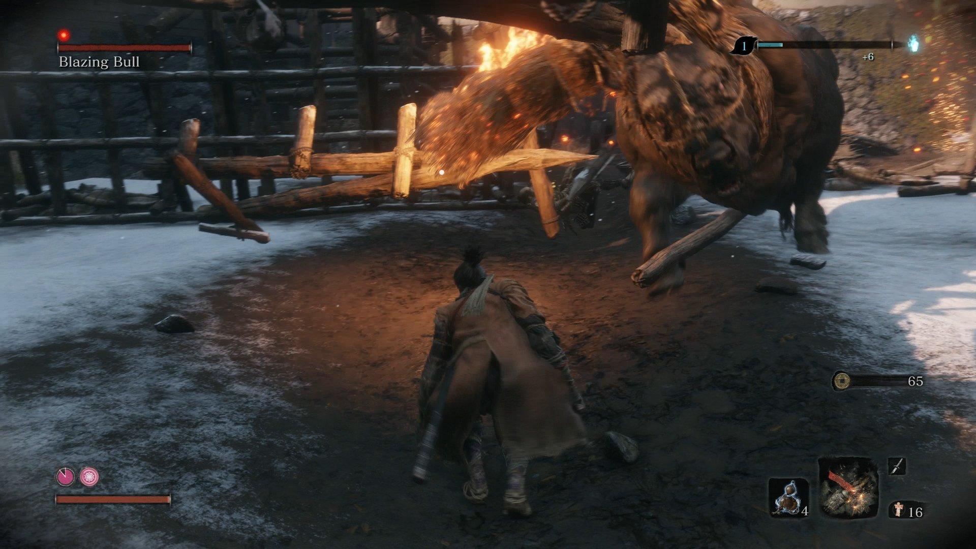 Blazing Bull Sekiro