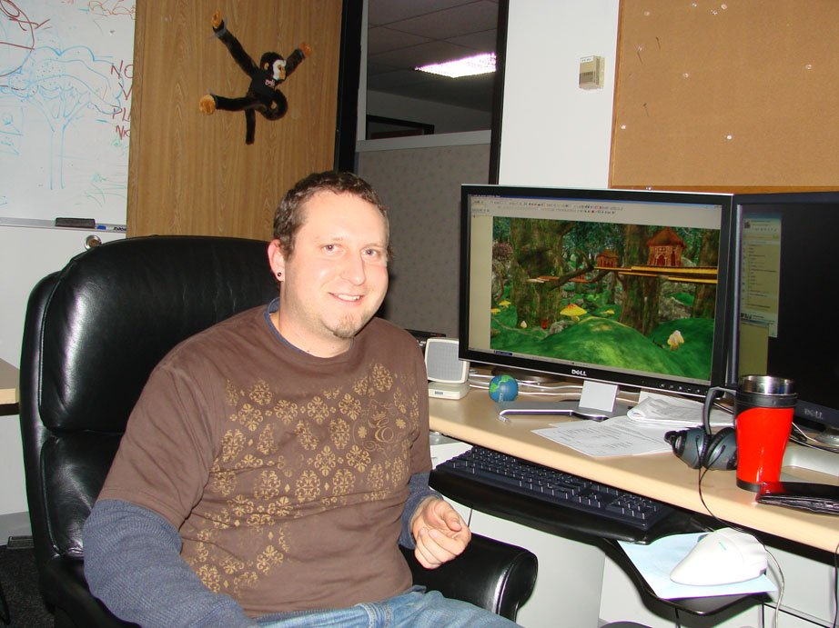 Brandan McDonald circa 2008. (Image courtesy of Daybreak Game Company.)