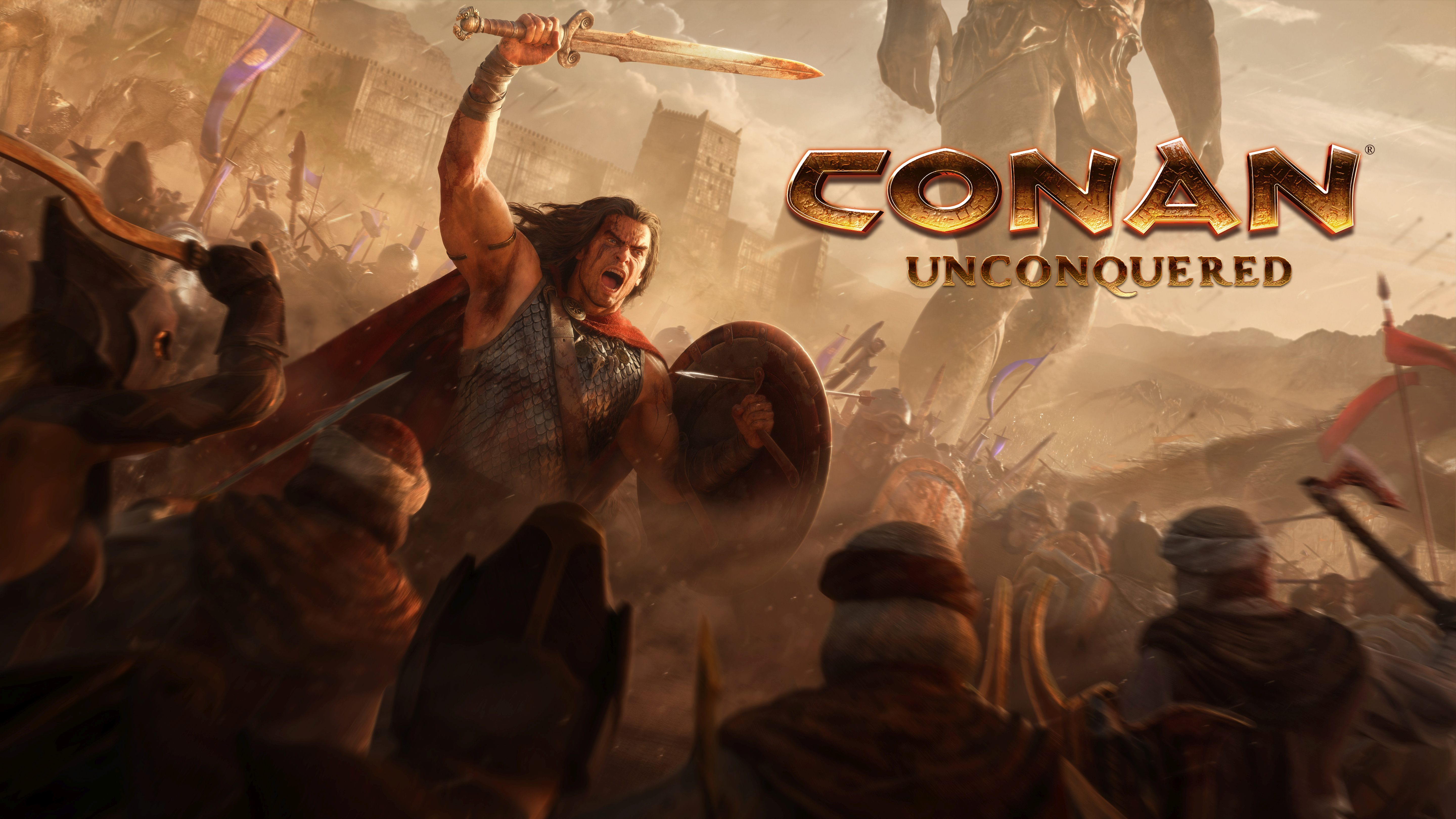 Conan Unconquered gameplay reveal real time strategy survival