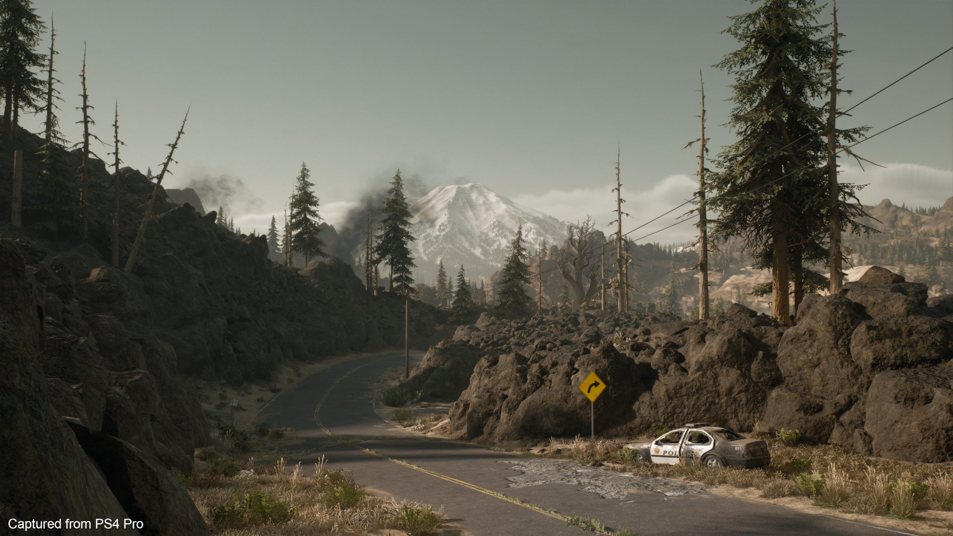 Days Gone screenshot the desecrated Oregon landscape