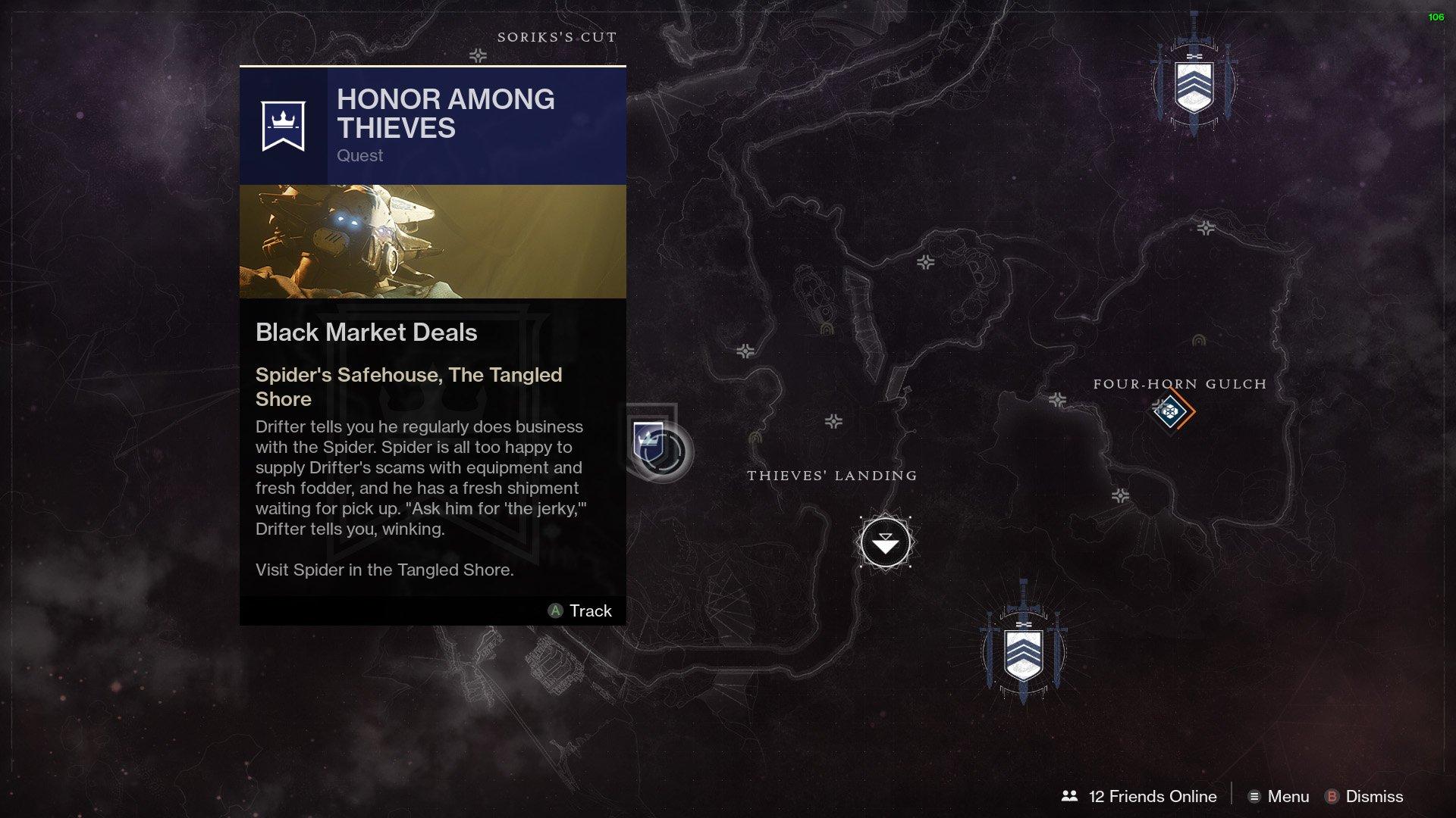 Destiny 2 Allegiance Drifter Black Market Deals