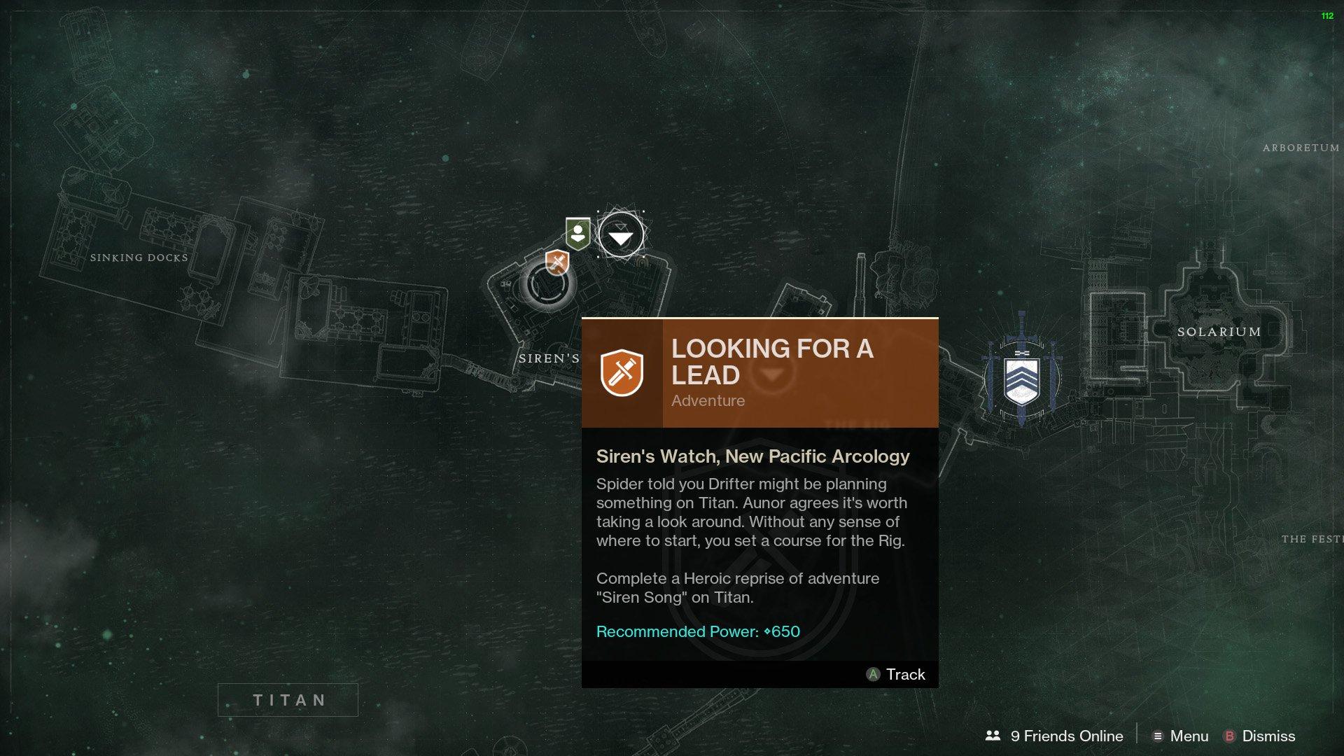 Destiny 2 Allegiance Vanguard Looking for a Lead Siren Song