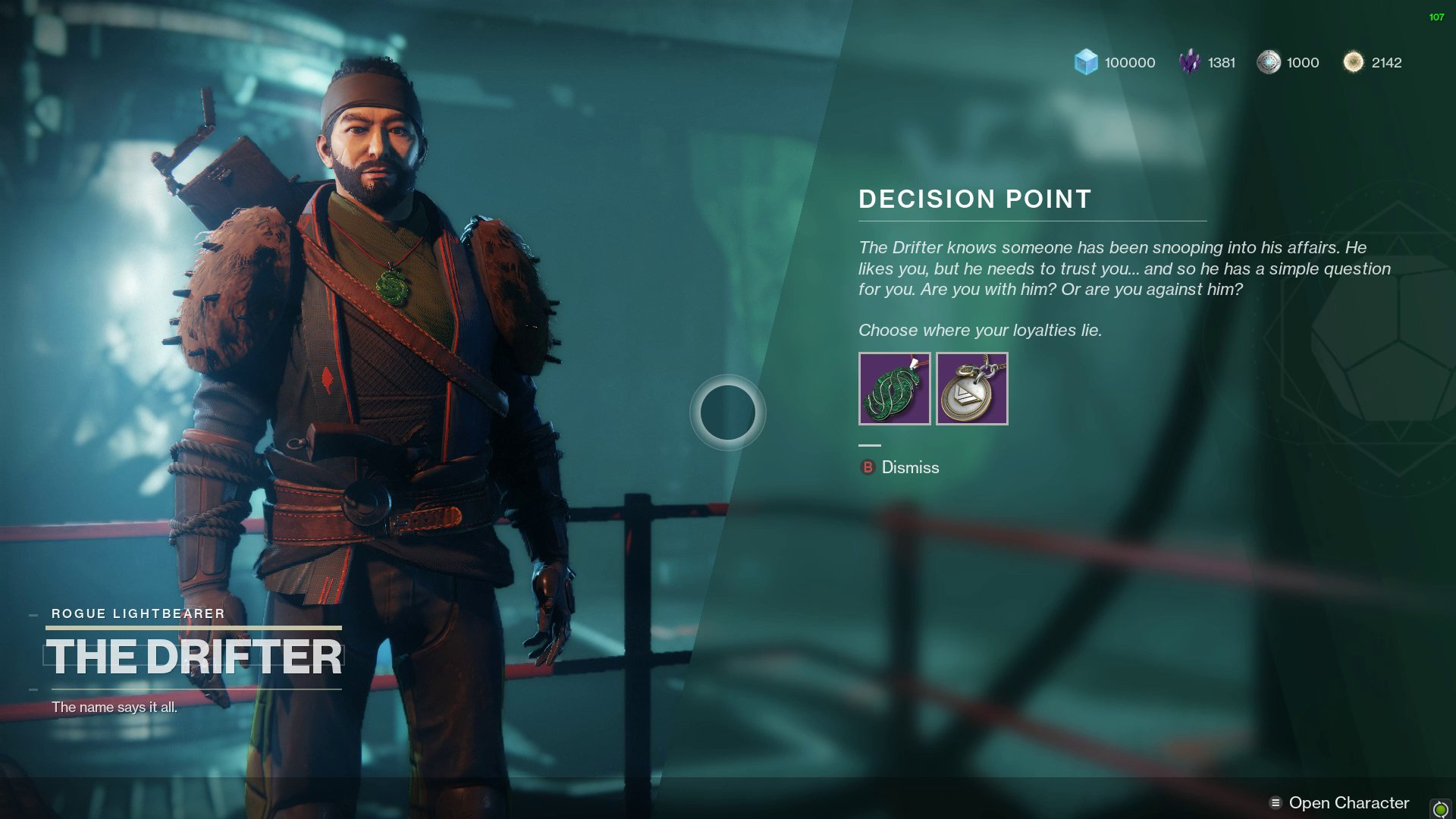 Destiny 2 Who to pick Vanguard or Drifter