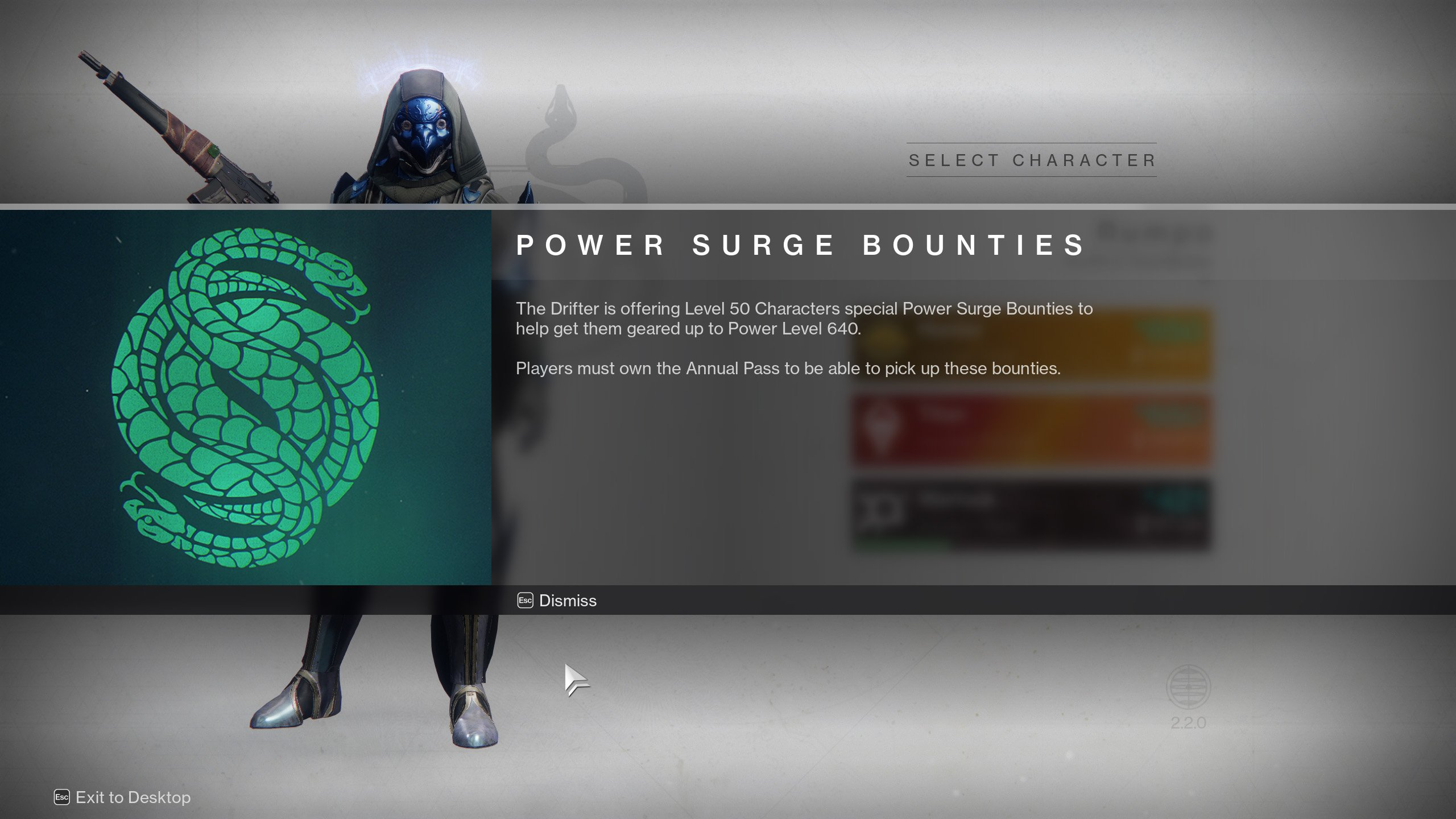 Destiny 2 introduces Power Surge Bounties