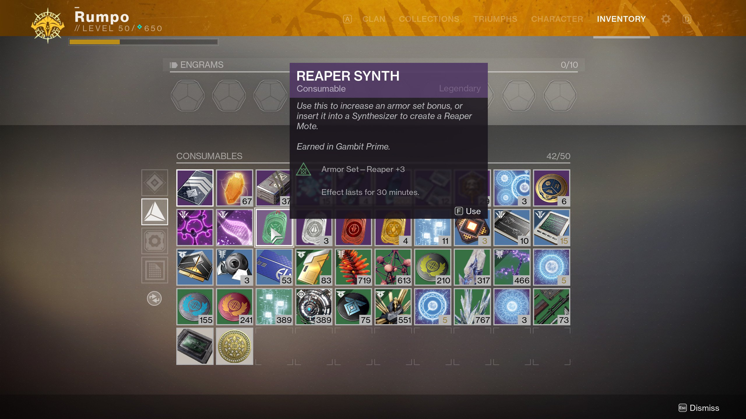 What is a Reaper Synth in Destiny 2? | Shacknews