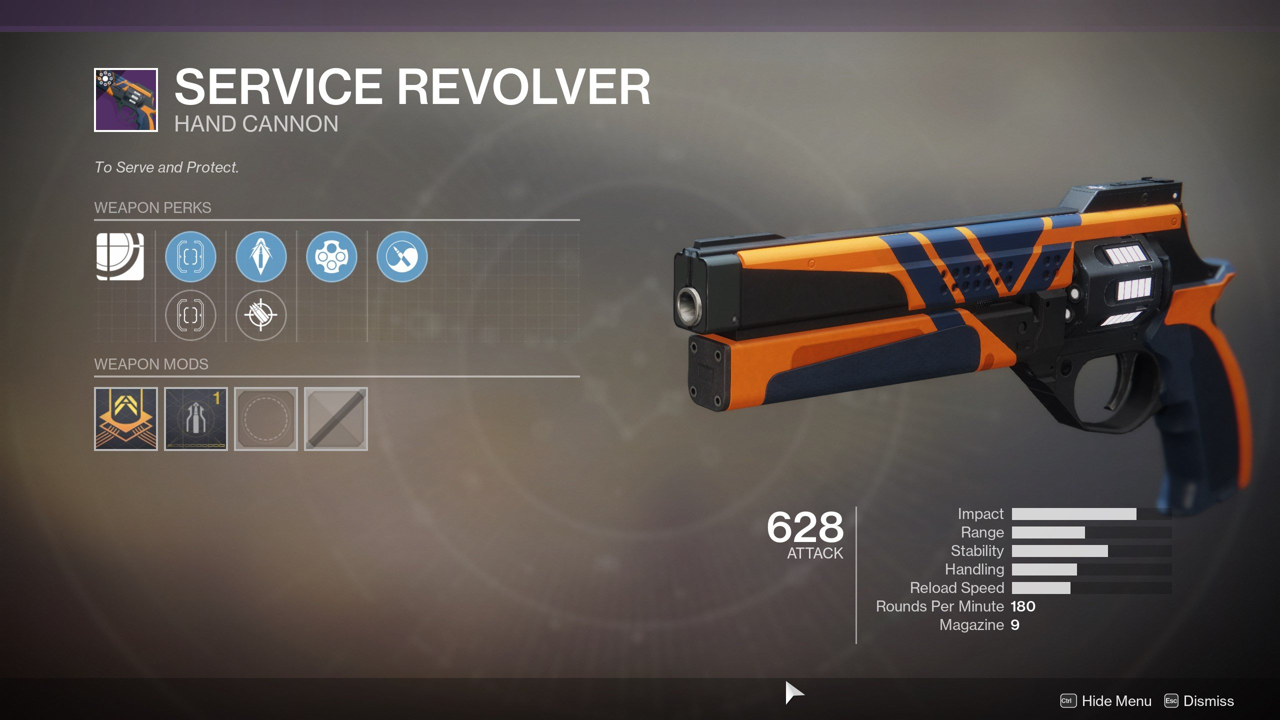 Get the Service Revolver in Destiny 2