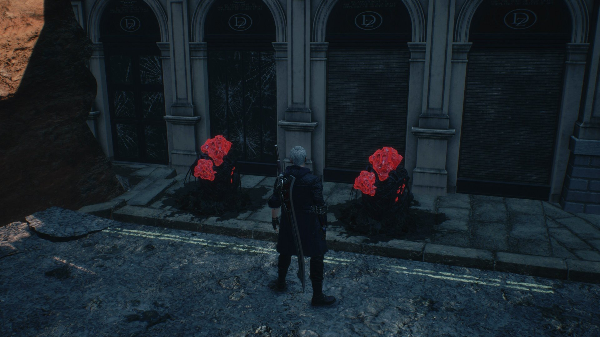 Devil May Cry 5 red orb clusters