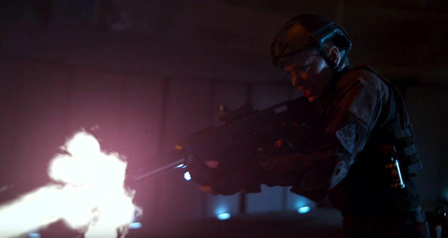 Doom Annihilation sequel movie direct to video marine soldier gunfire