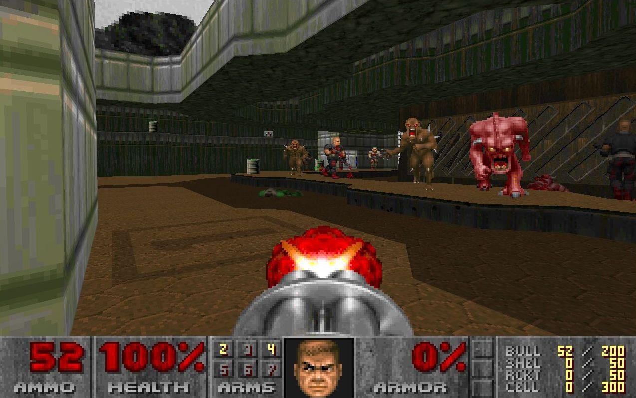 Doom E1M4b.