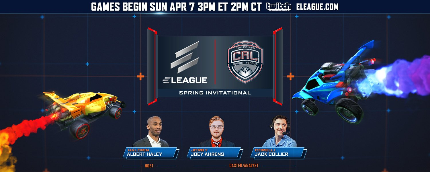 ELEAGUE CRL Rocket League Spring