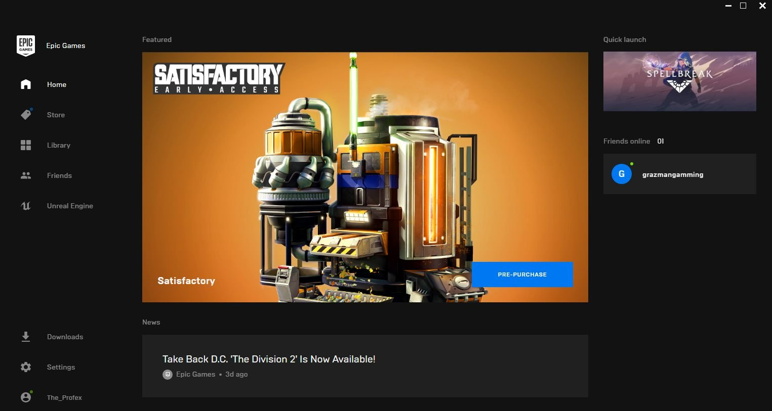 Epic Games store image roadmap features schedule release