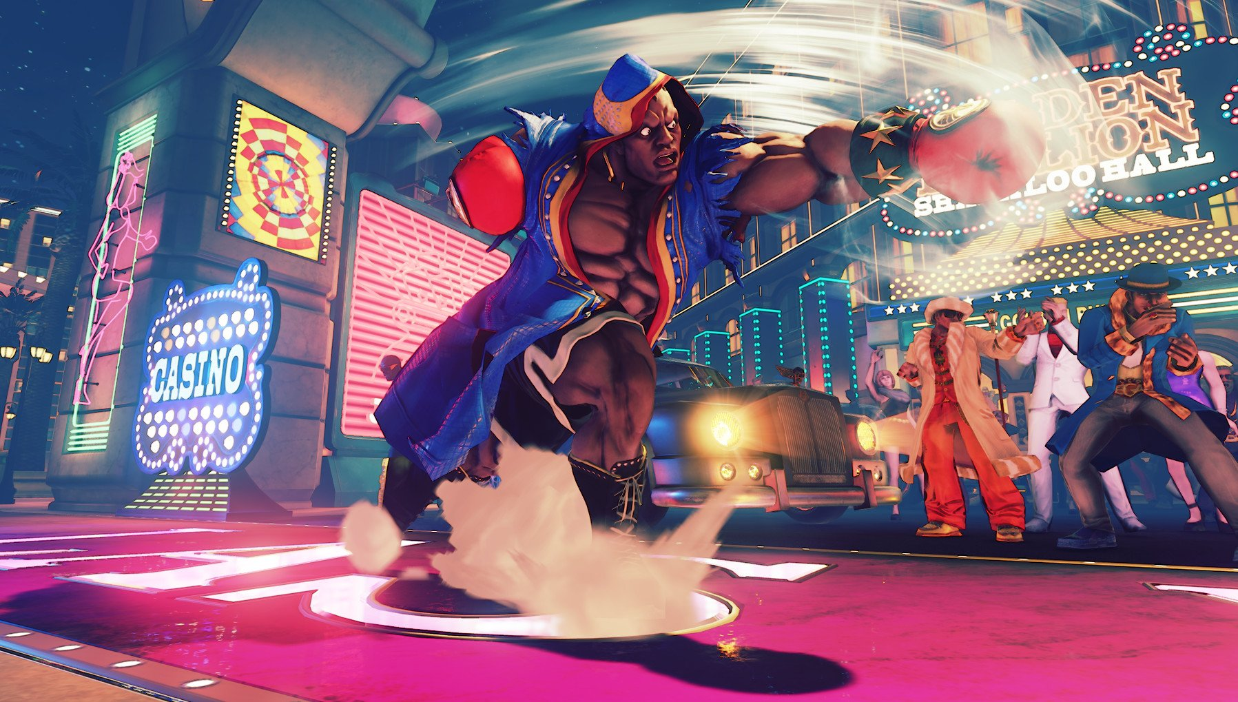 Street Fighter V players are picky about latency.