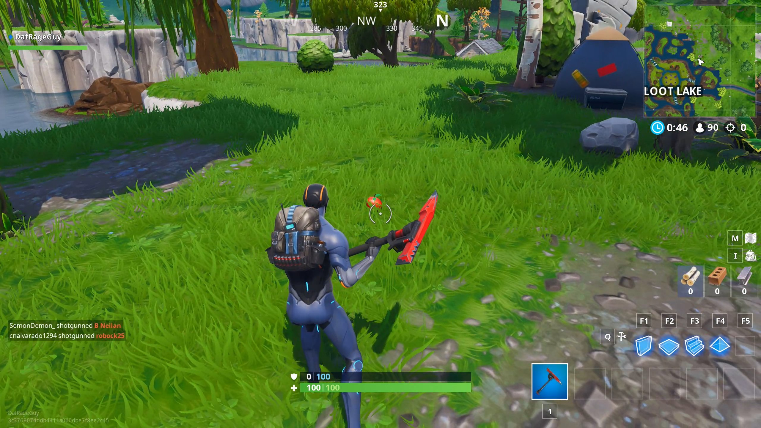 Fortnite apples on the ground