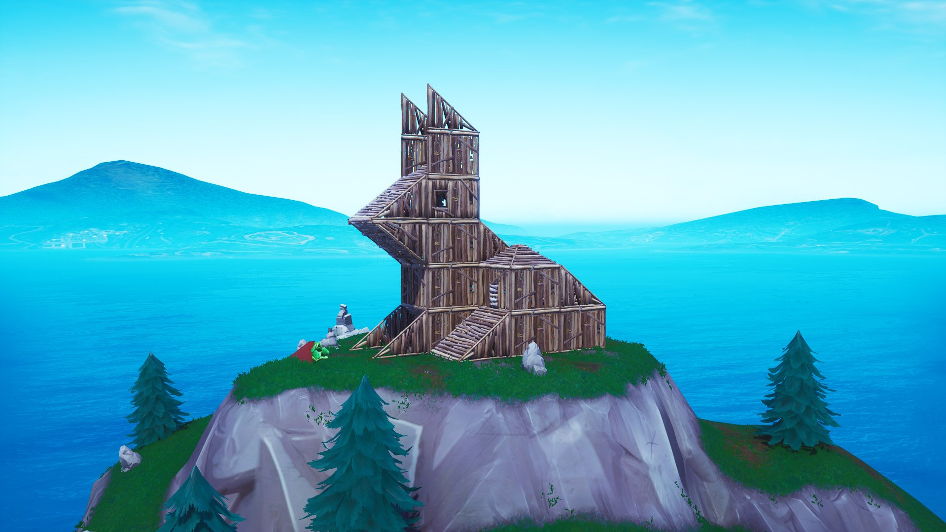 Fortnite bunny structure
