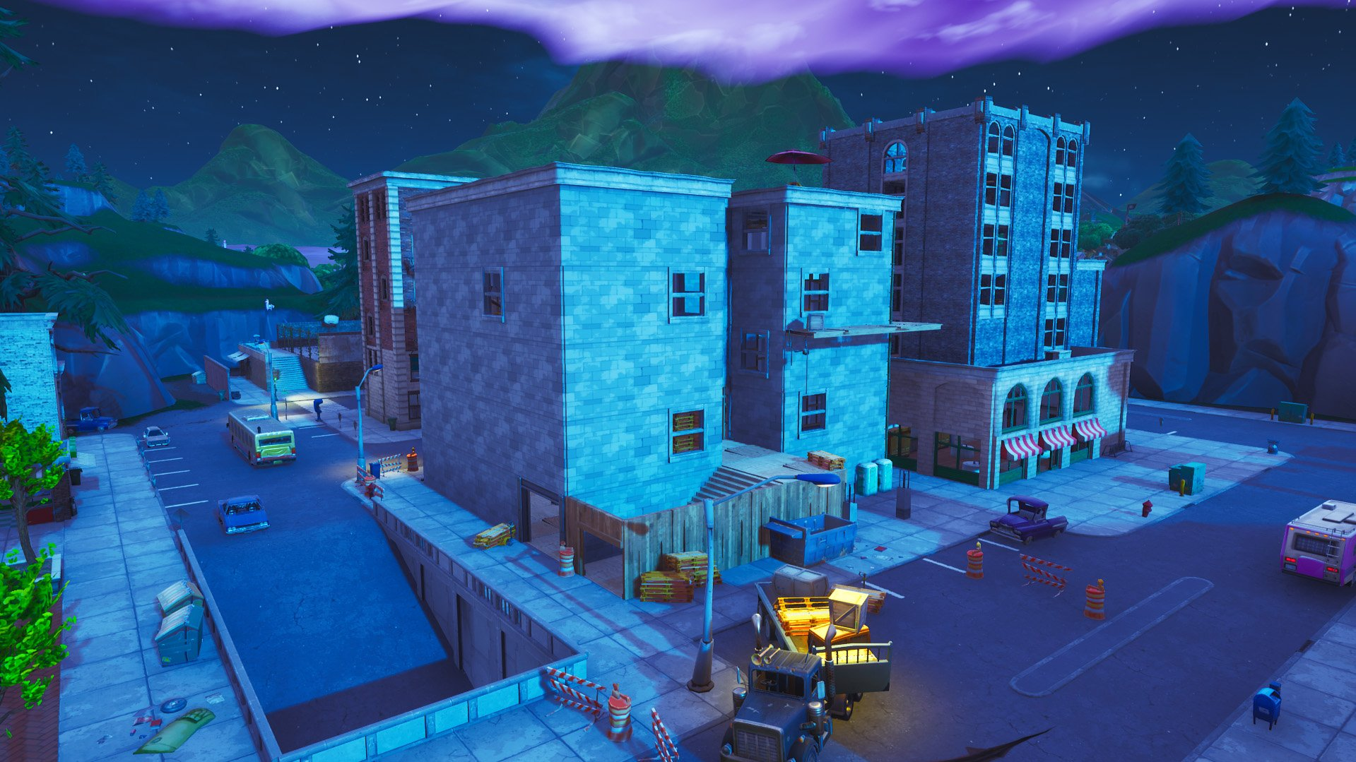 Fortnite Tilted Towers changes
