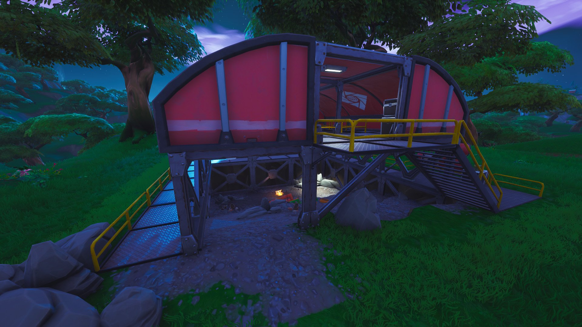 Fortnite expedition outpost north of lazy lagoon