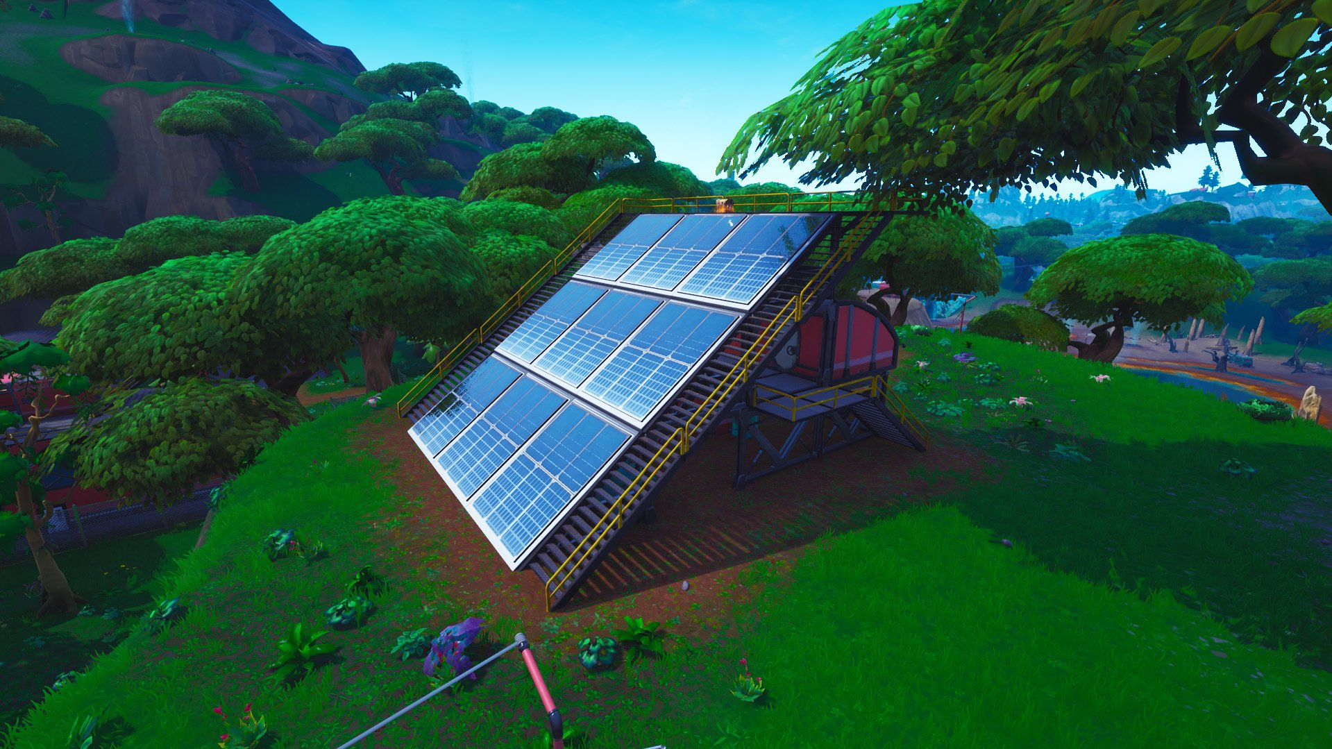 Fortnite outpost near sunny steps