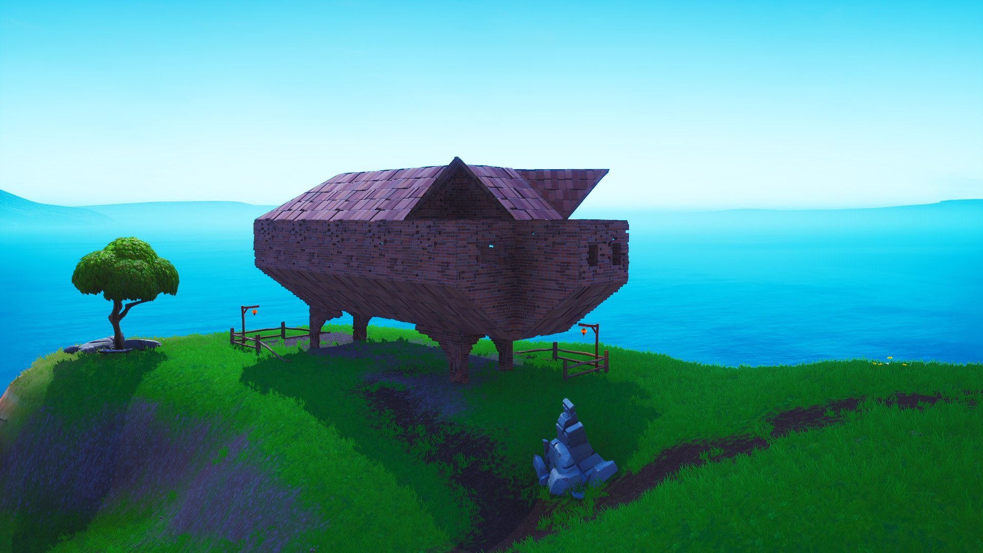 Fortnite pig structure