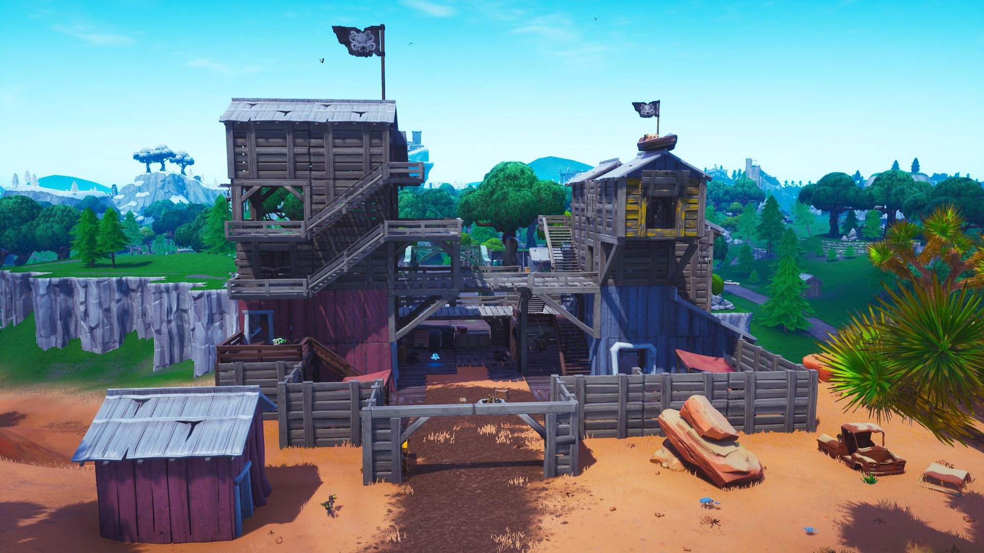 Fortnite pirate camp