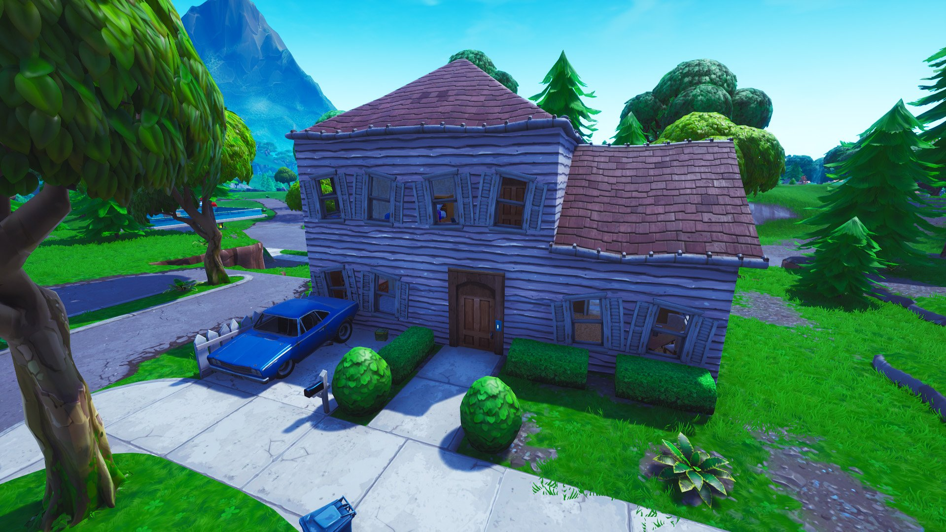 Fortnite Salty springs house redesign
