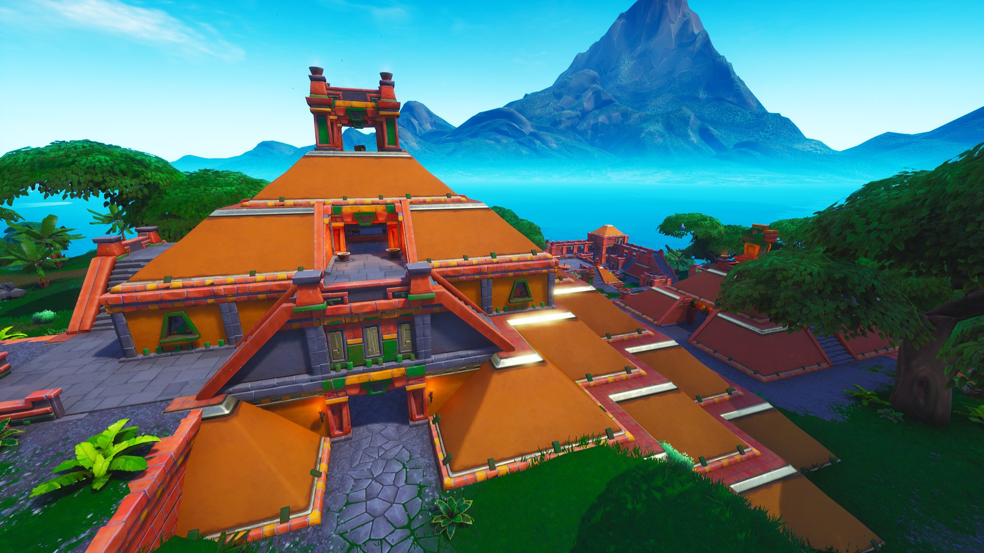 new location sunny steps hits fortnite - fortnite season 8 map images