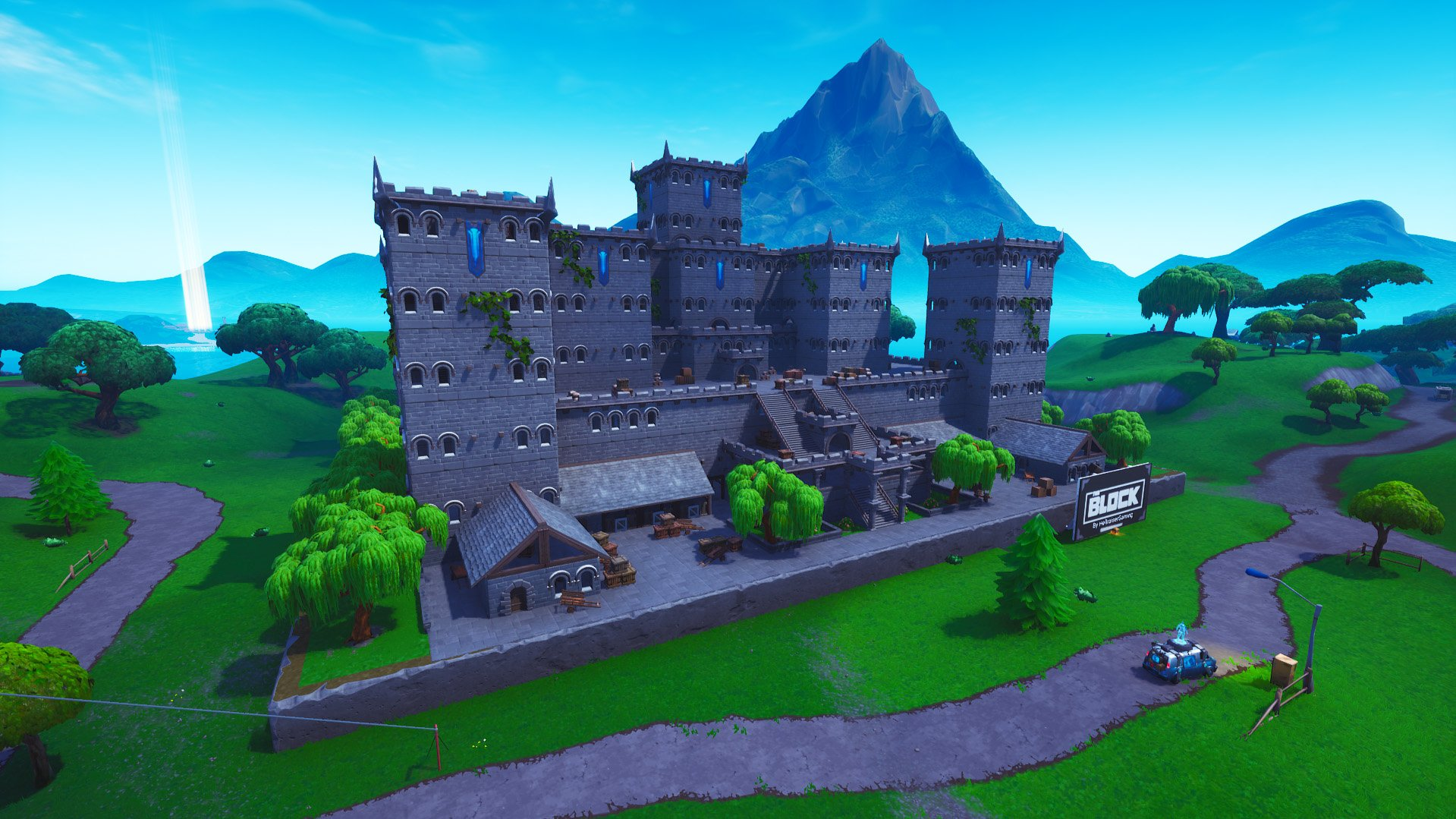Fortnite The Block new location
