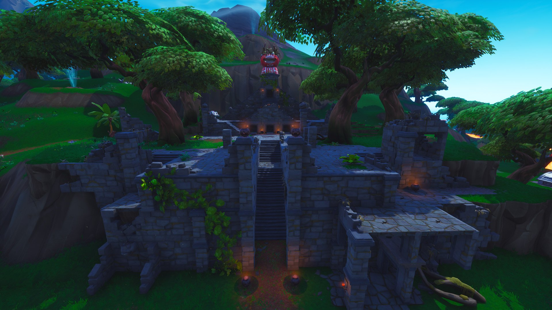 Fortnite tomato temple pieces