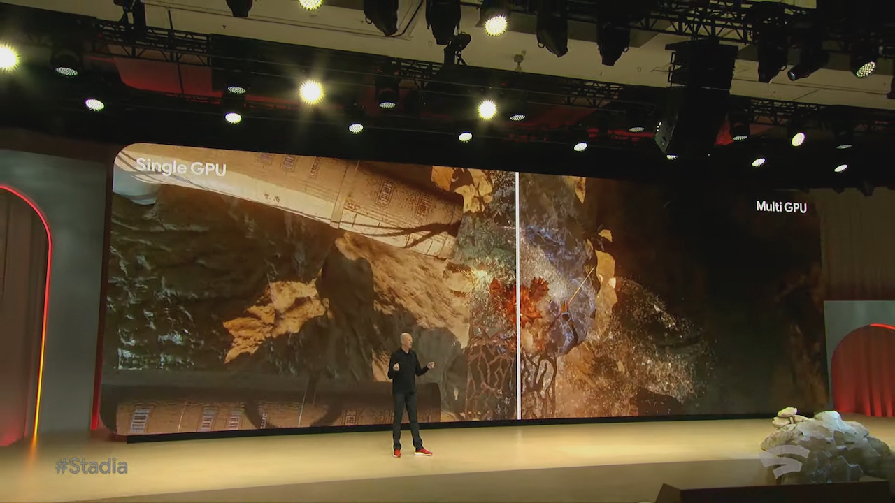 Doom Eternal seen on Google Stadia