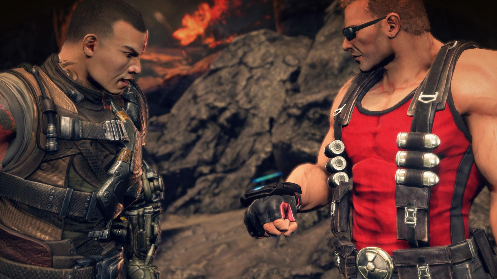 Gearbox teasing Duke Nukem or Bulletstorm game - Sato and Duke Nukem