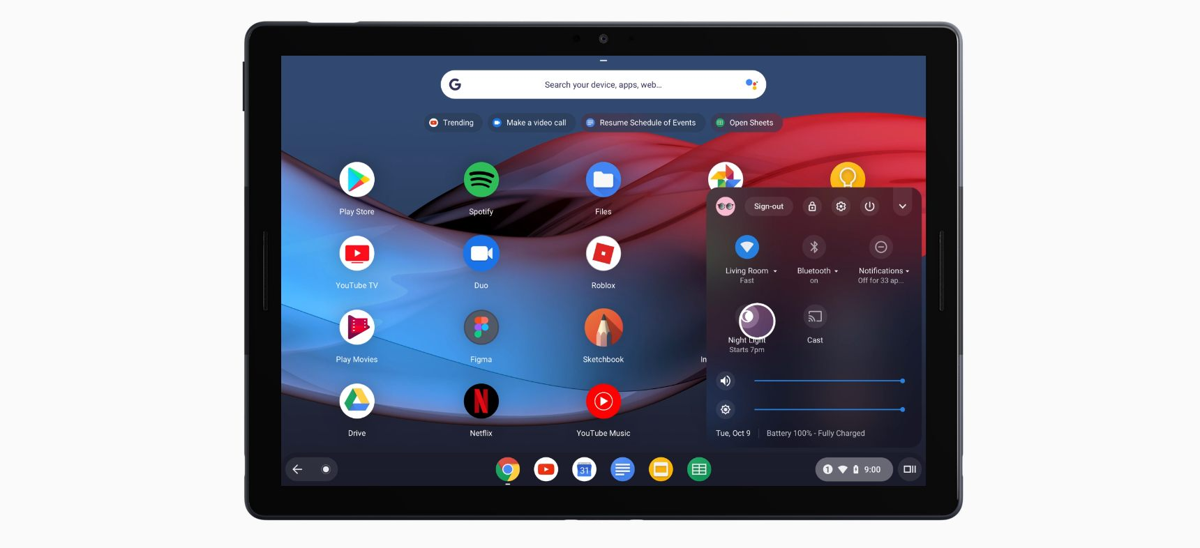 Google Pixel Slate employee hardware division tablet laptop change shift