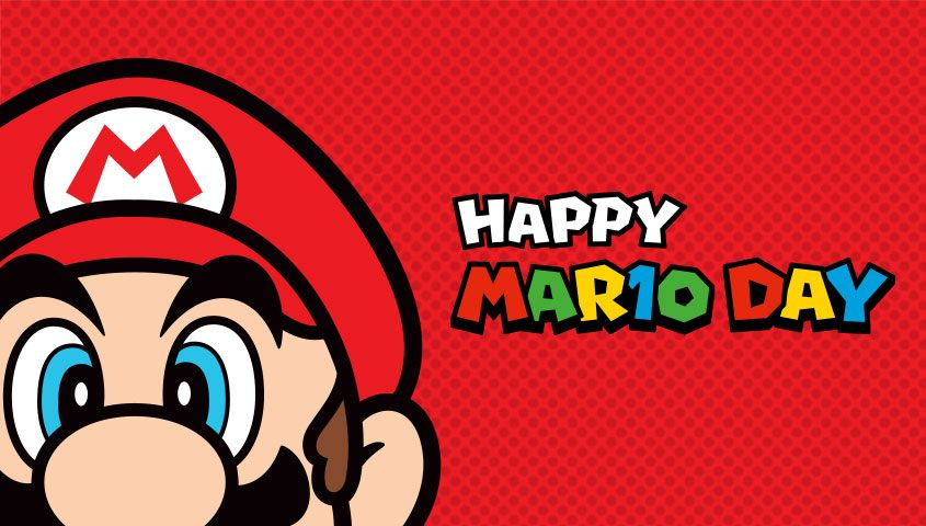 Super Mario Day Mar10 March 10 Nintendo Switch discount Deal celebration week