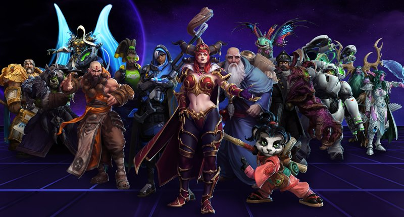 Heroes of the Storm hero roles