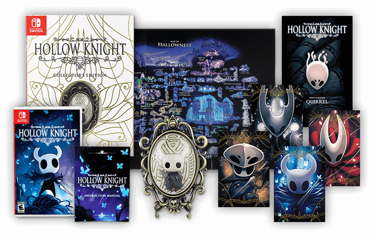 Hollow Knight Collector's Edition contents pre-order and price