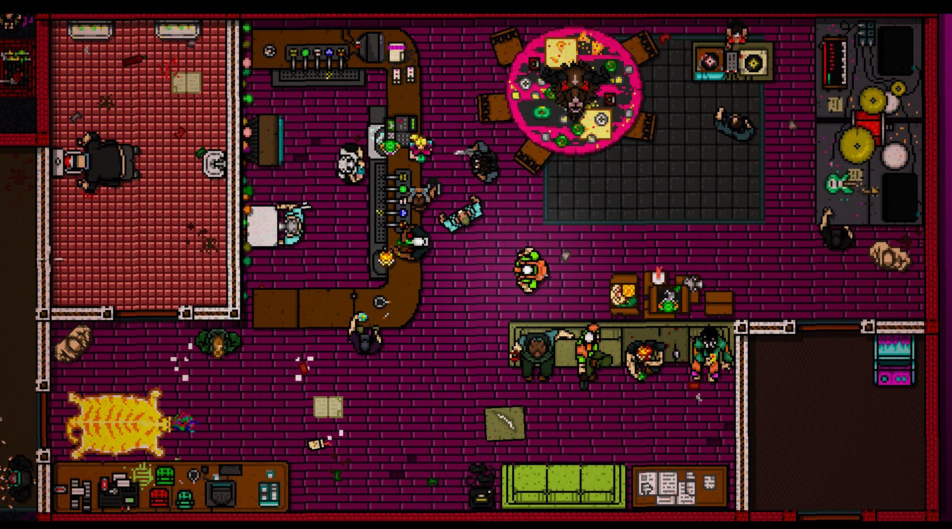 Devolver Digital attending e3 - Hotline Miami 2 gameplay