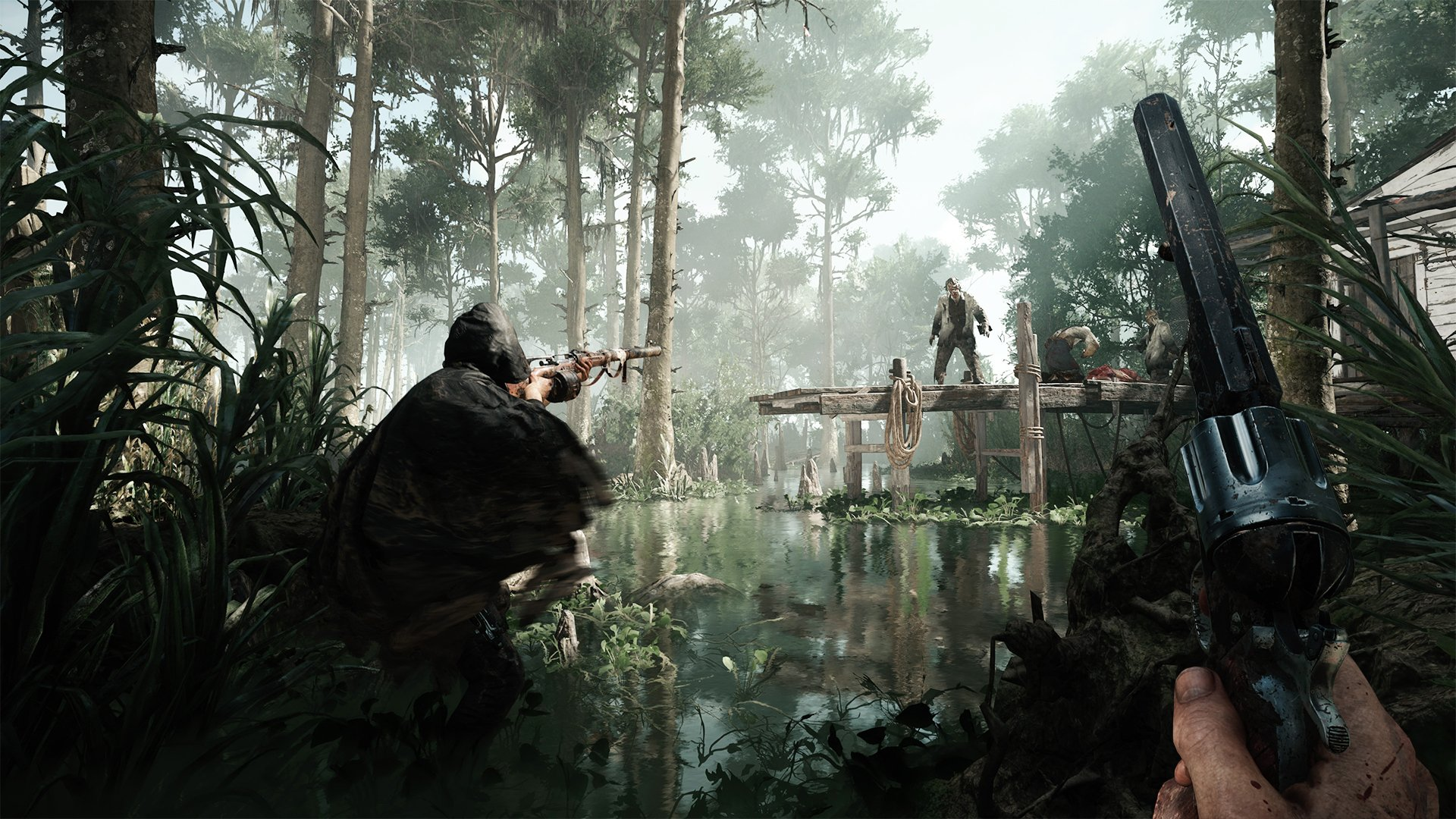 Hunt:Showdown keeps players on edge by constantly ratcheting up the tension.