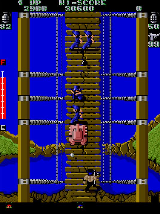 IKARI WARRIORS arcade archive screenshot